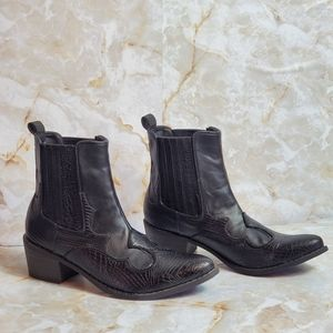 Brand New Coconuts by Matisse Black Leather Boots